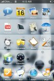 iPhone theme - Bubble Invert V3