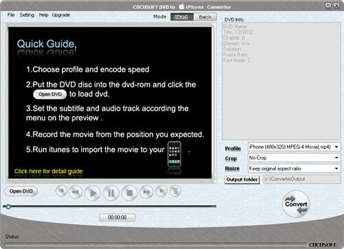 DVD to iPhone Video Converter