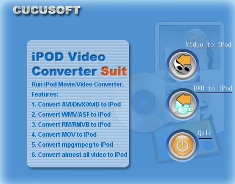 dvd to ipod video screenshot