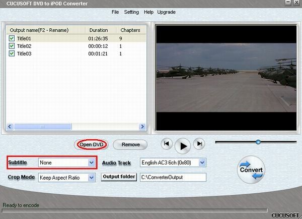 Guide convert video and copy protected DVD movie to Apple